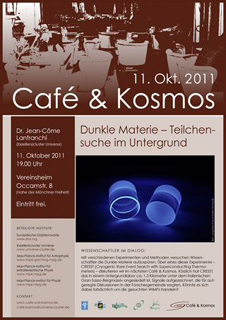 Poster of Café & Kosmos 11 October 2011
