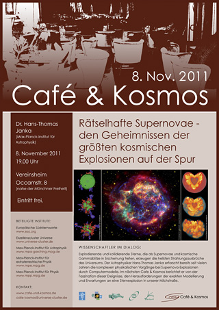 Poster of Café & Kosmos 8 November 2011