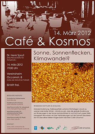 Poster of Café & Kosmos 14 March 2012