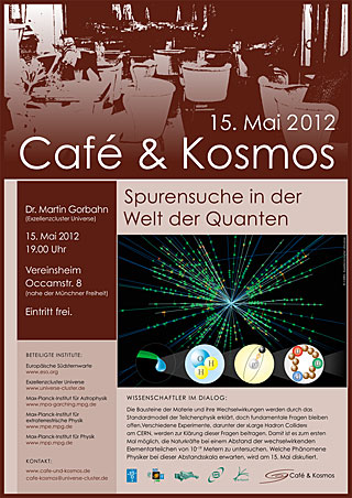Poster of Café & Kosmos 15 May 2012