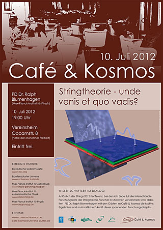 Poster of Café & Kosmos 10 July 2012