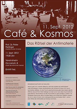 Poster of Café & Kosmos 11 September 2012