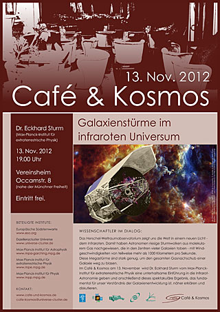 Poster of Café & Kosmos 13 November 2012
