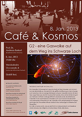 Poster of Café & Kosmos 8 January 2013