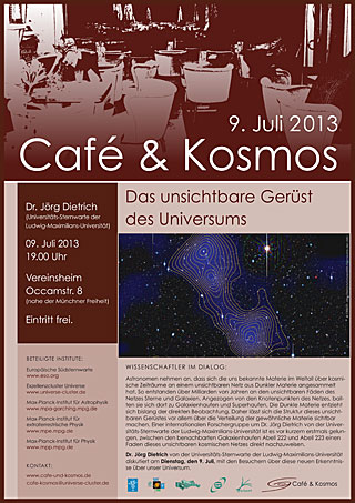 Poster of Café & Kosmos 9 July 2013