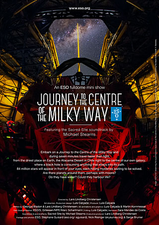 Poster: Journey to the Centre of the Milky Way