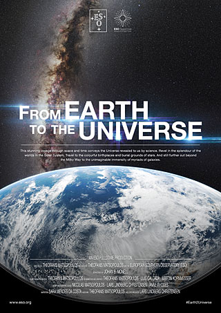 Poster: From Earth to the Universe Planetarium Show