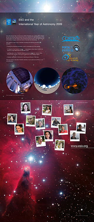 International Year of Astronomy Exhibition Panel (standard, English)