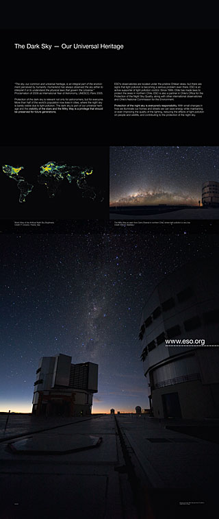 Light Pollution Exhibition Panel (standard, English)