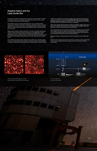 Adaptive Optics 1 (Paranal Visitor Centre, English, Spanish)