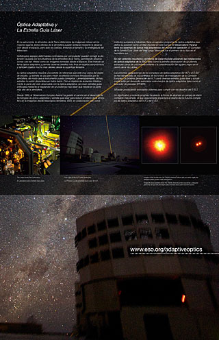 Adaptive Optics 2 (Paranal Visitor Centre, English, Spanish)