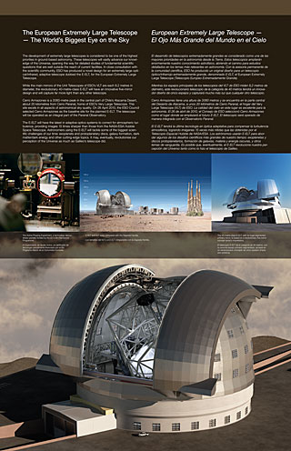 E-ELT General (Paranal Visitor Centre, English, Spanish)