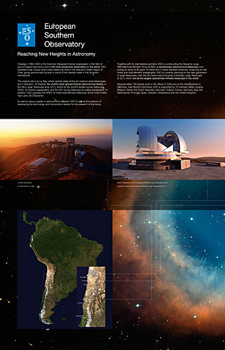 ESO 1 (Paranal Visitor Centre, English, Spanish)