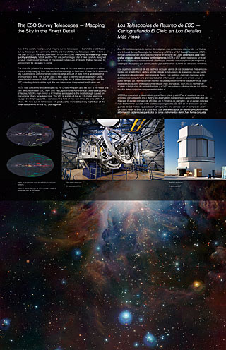 Survey Telescopes (Paranal Visitor Centre, English, Spanish)