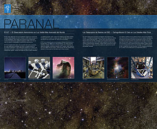 Paranal (Vitacura Reception, Spanish)