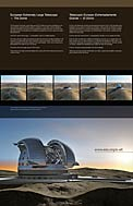E-ELT Dome (Paranal Visitor Centre, English, Spanish)