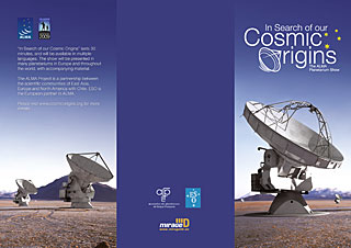 Flyer: In Search of our Cosmic Origins (English)