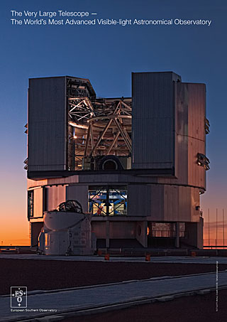 The Very Large Telescope — The World's Most Advanced Visible-light Astronomical Observatory handout (English)