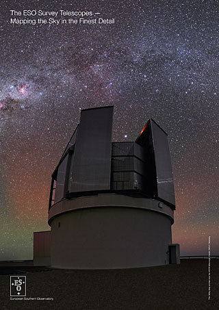 The ESO Survey Telescopes — Mapping the Sky in the Finest Detail handout (2015, English)