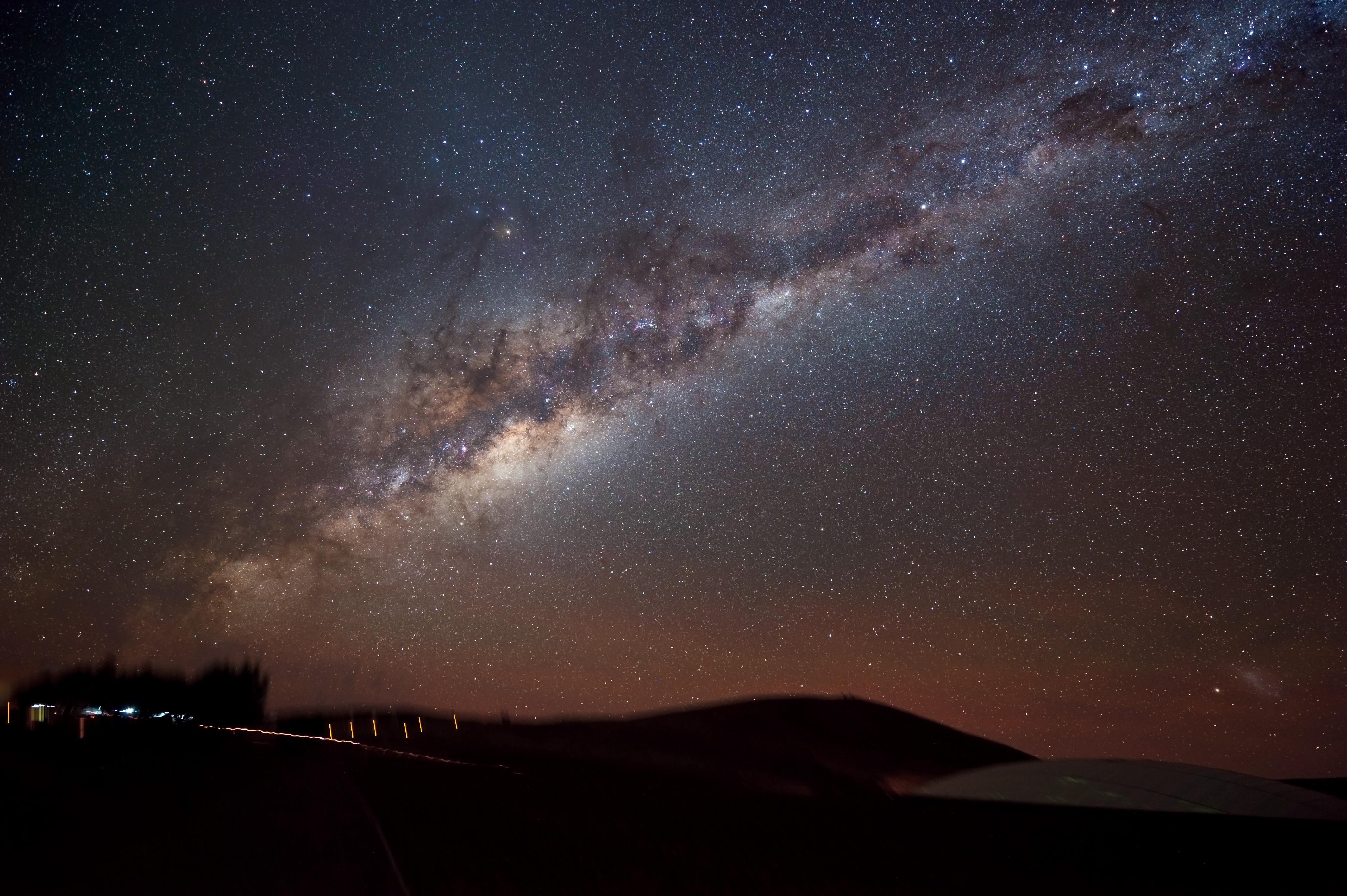 milky way galaxy edge on view - photo #44