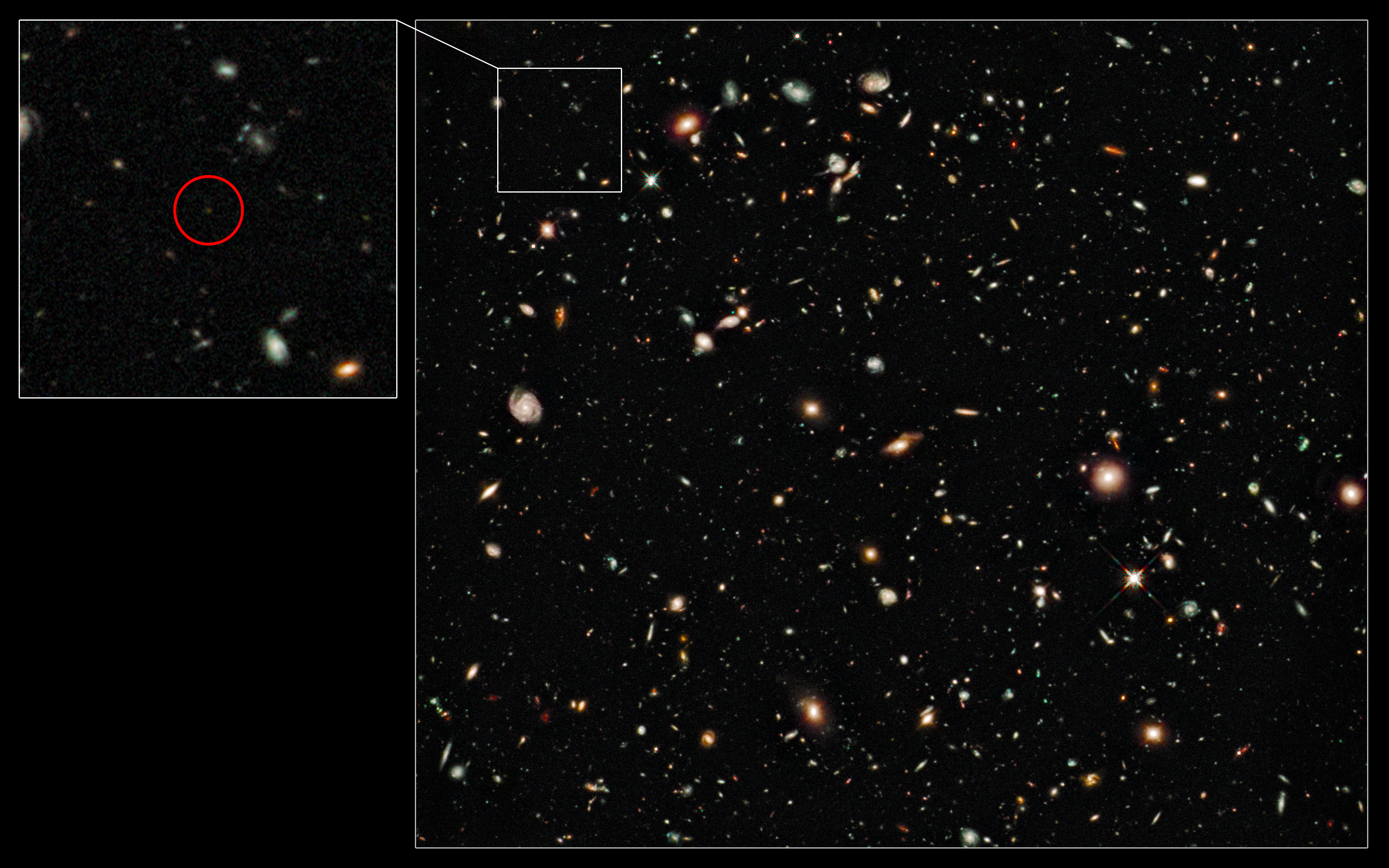 8848e0ad7 Record-breaking galaxy found at the edge of the Universe - Bad ...