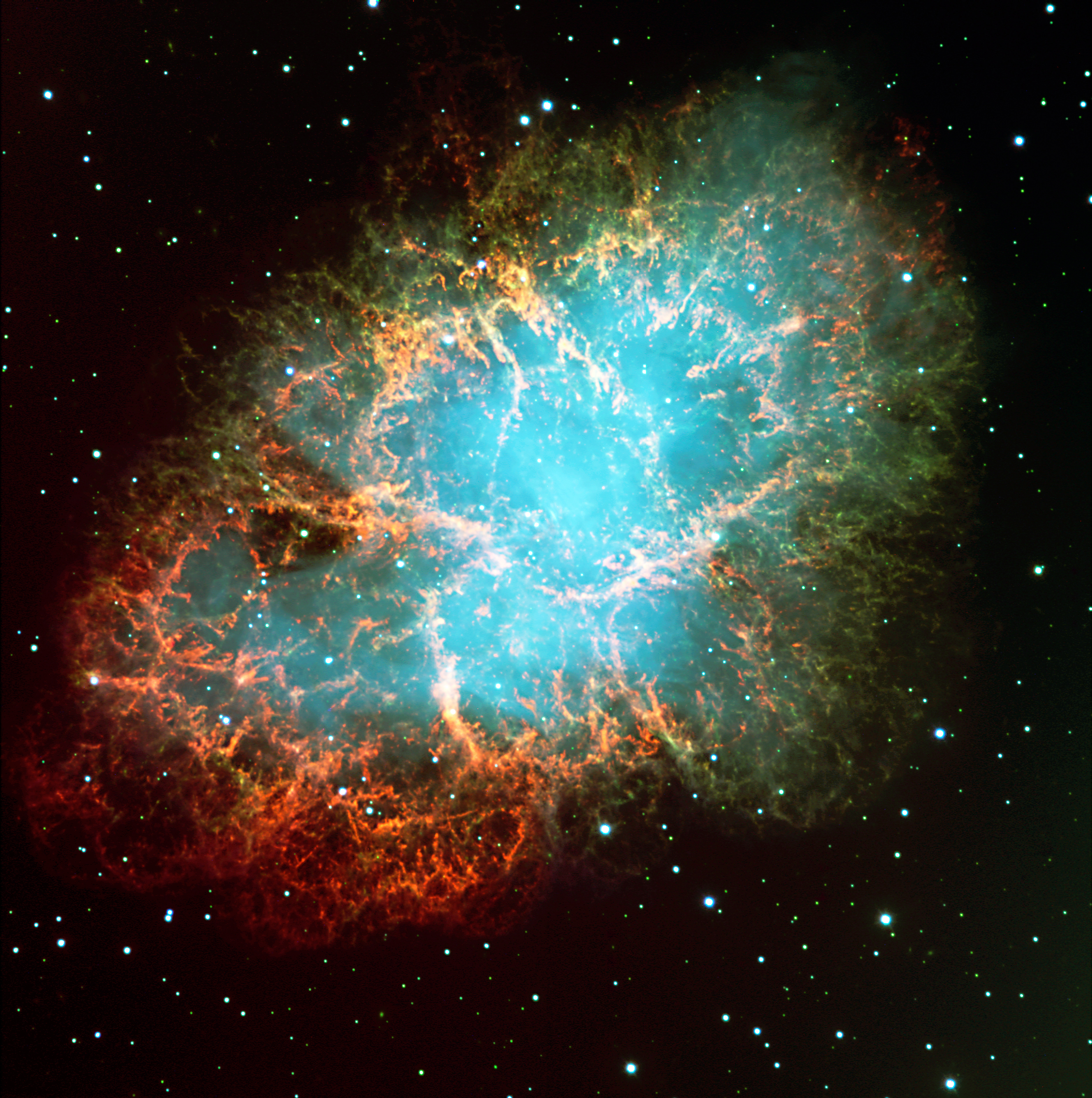 Hubble crab nebula wallpaper