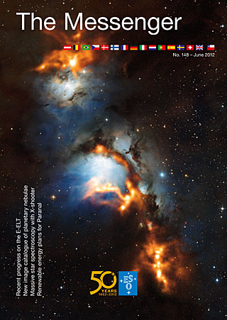 Portada del nº 148 de la revista The Messenger