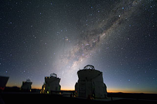Beautiful Sky over Paranal *