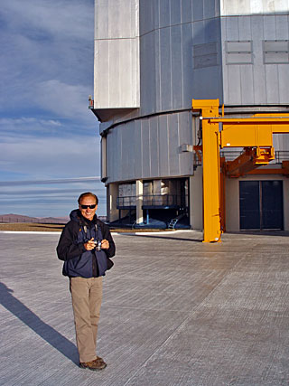 A Science Teacher visits Paranal