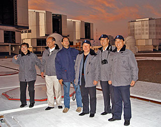 Chinese Delegation visits Paranal