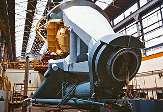 Construction of the ESO 3.6-metre telescope support