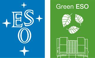 Green ESO logo