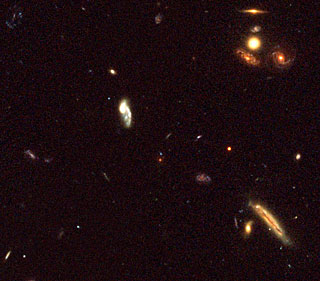 Small Part of the K20 Field Showing the z=1.9 Elliptical Galaxy