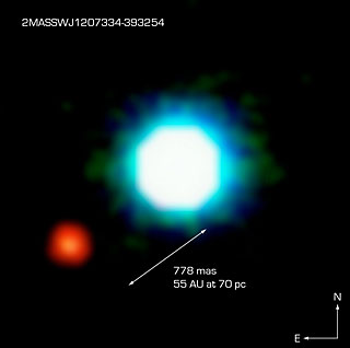 The Brown Dwarf Object 2M1207 and GPCC