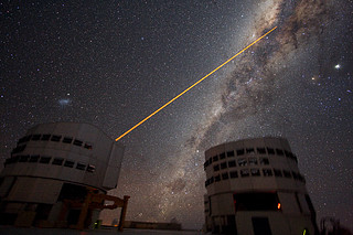 Shooting a Laser at the Galactic Centre *