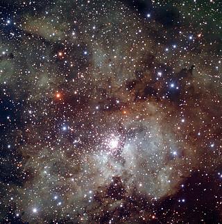 Stellar berçário NGC 3603