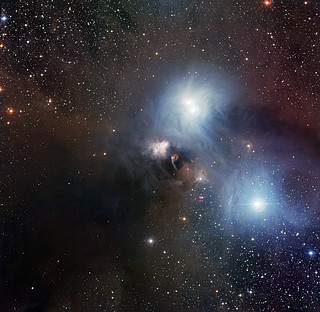 The R Coronae Australis region imaged with the Wide Field Imager at La Silla