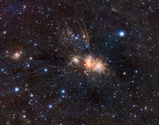 Infrared VISTA view of a stellar nursery in Monoceros*