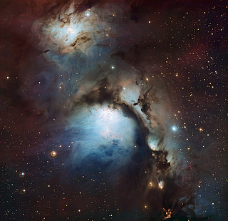 Messier 78: a reflection nebula in Orion