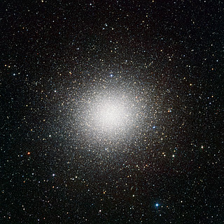VST image of the giant globular cluster Omega Centauri