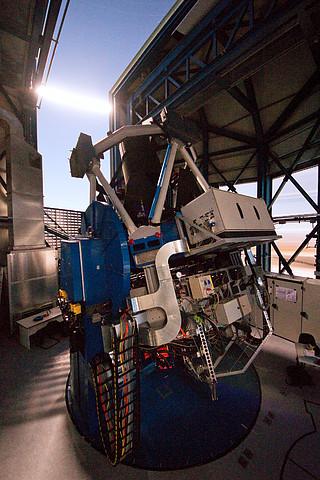 El telescopio más grande del mundo, diseñado para rastrear el cielo en luz visible Eso1119l