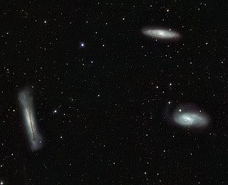VST's view of the Leo Triplet and beyond