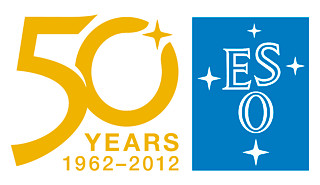 The ESO 50th anniversary logo