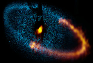ALMA observes a ring around the bright star Fomalhaut