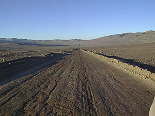 Old Panamericana Road and ESO Paranal Surroundings