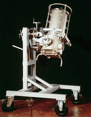 Decommissioned IR instrument