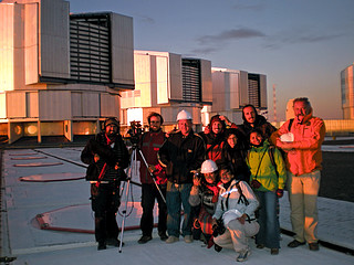GalileoMobile visits Paranal