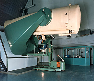 The Schmidt Telescope in Operation
