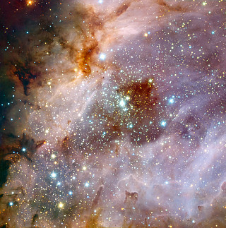 ESO's Very Large Telescope Peers into a Distant Nebula
