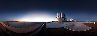Very Large Telescope Listo para Entrar en Acción